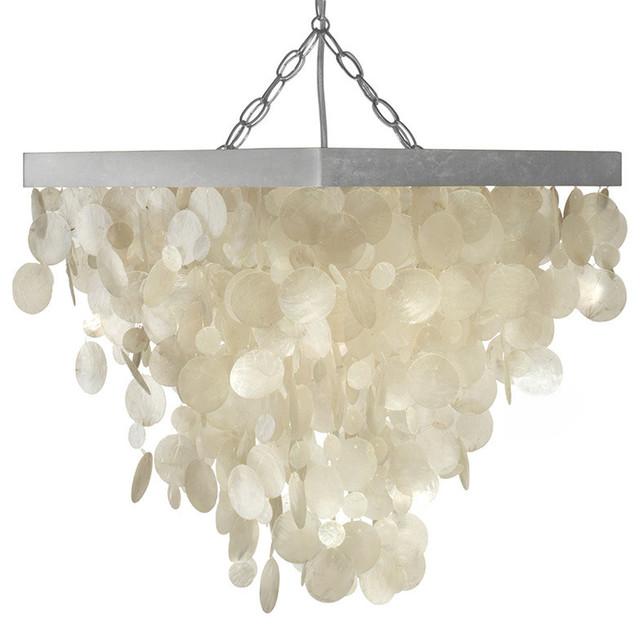 capiz seashell rain drop pendant lamp beach style chandeliers beach theme lighting