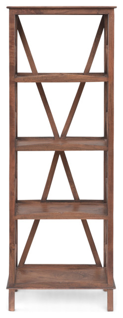 Abel Mango Wood Bookcase