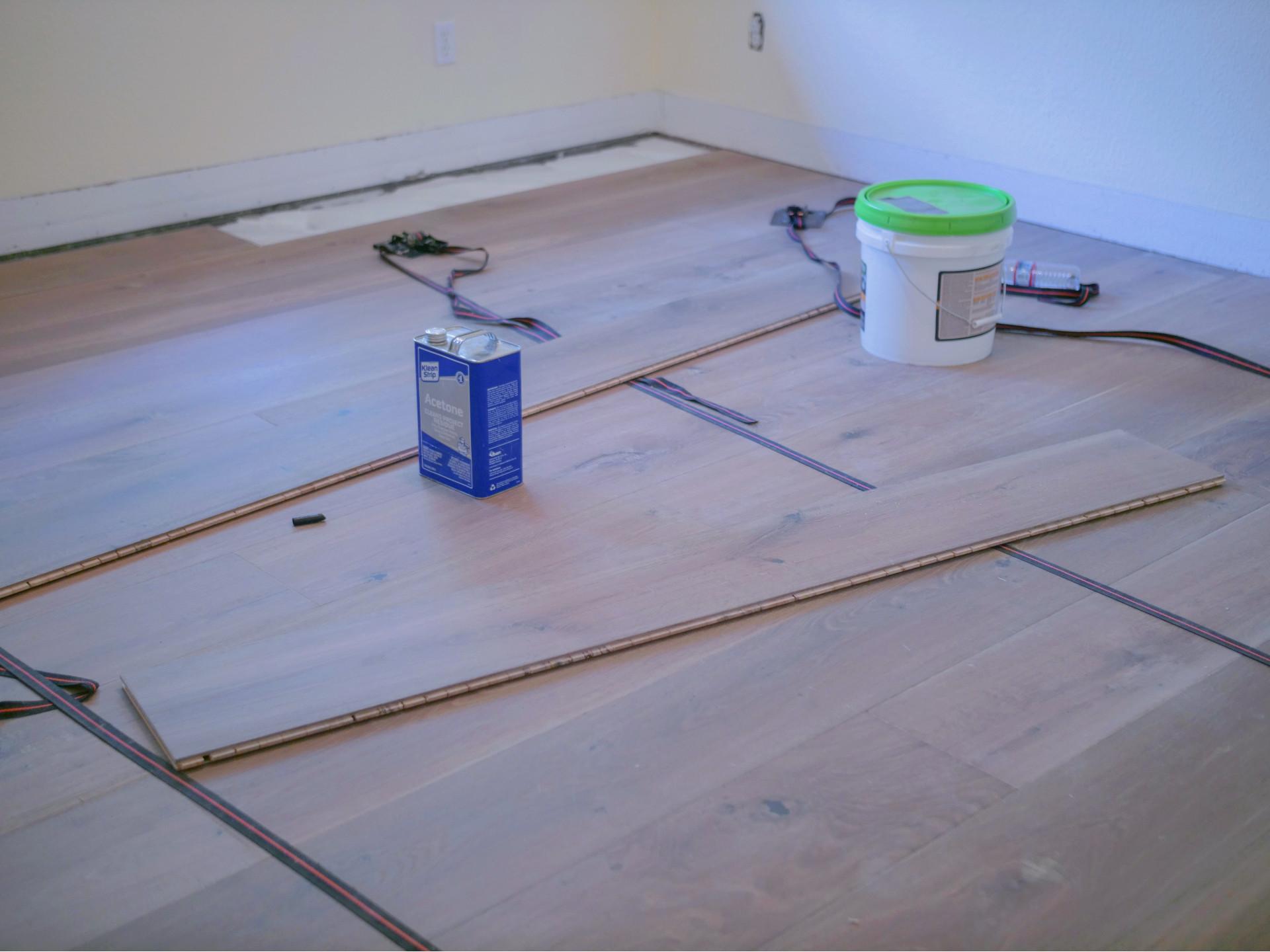 Hardwood Renovation in Progress