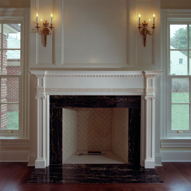 Fireplace surrounds traditional fireplace mantels chicago by decorators supply corp - Mantelpiece surround ...