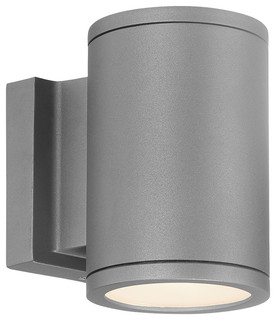 Wac Lighting Tube Led Outdoor Up And Down Wall Light