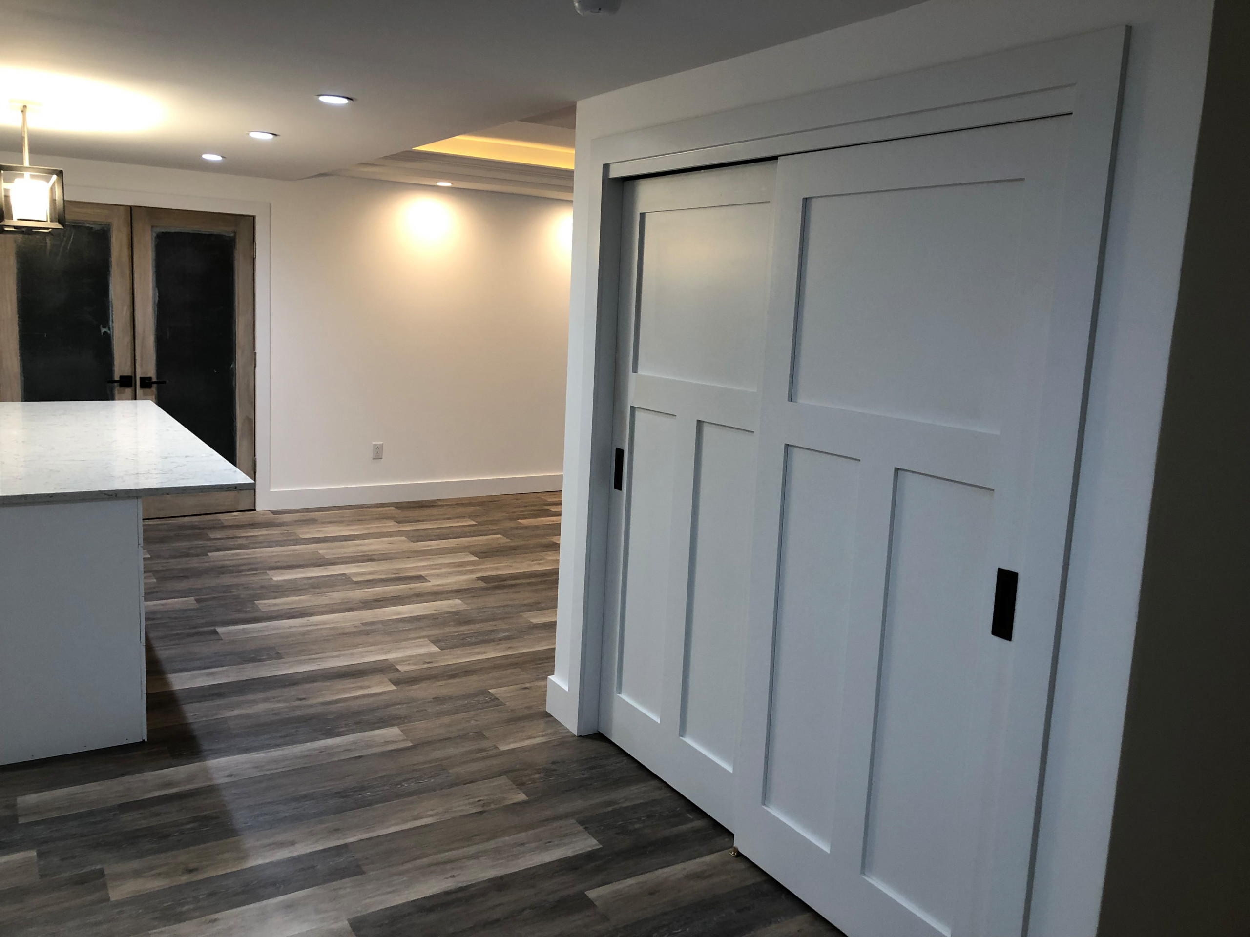 New construction basement finish