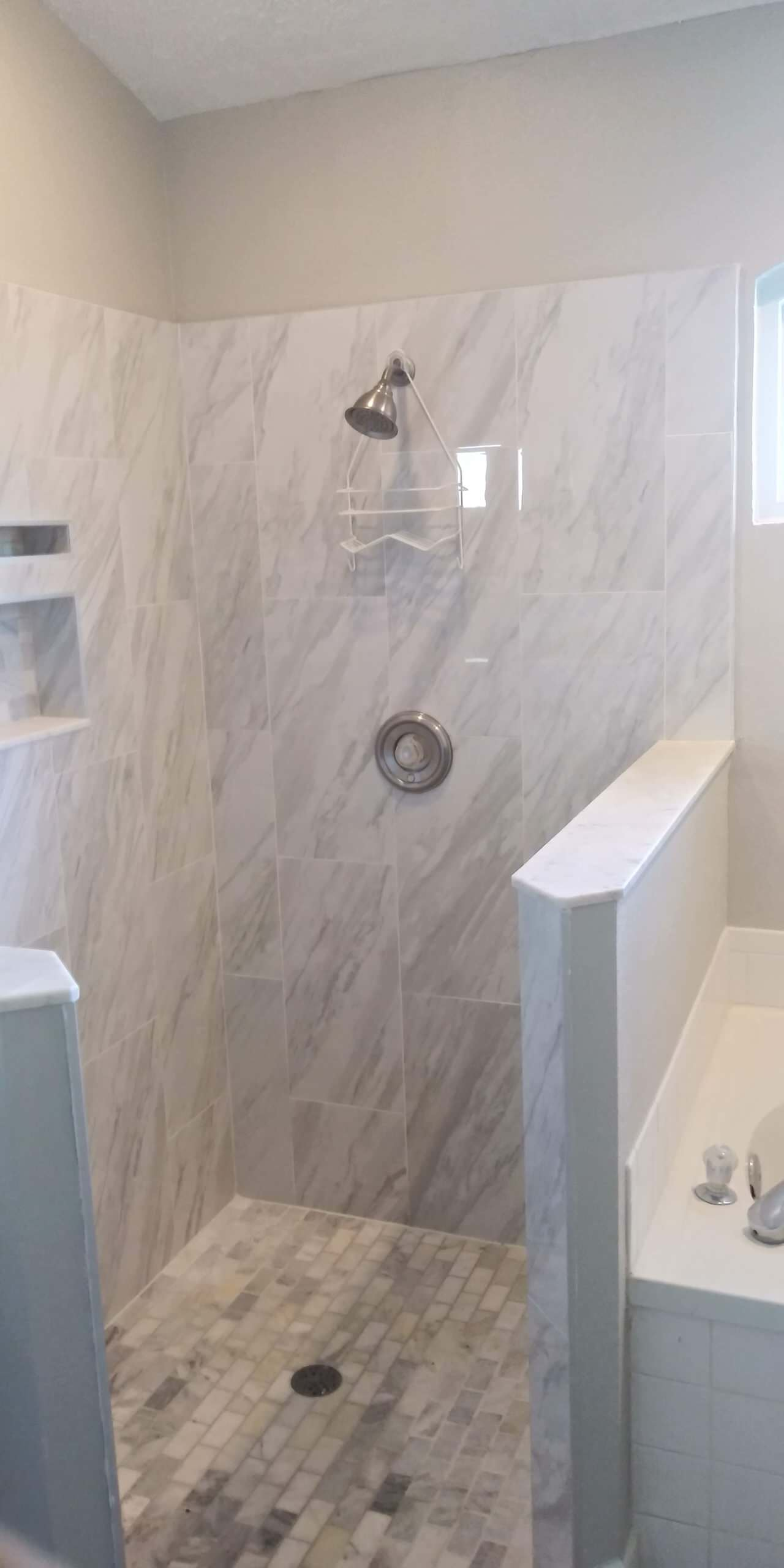 Wesley Chapel | Traditional | Partial Shower Remodel