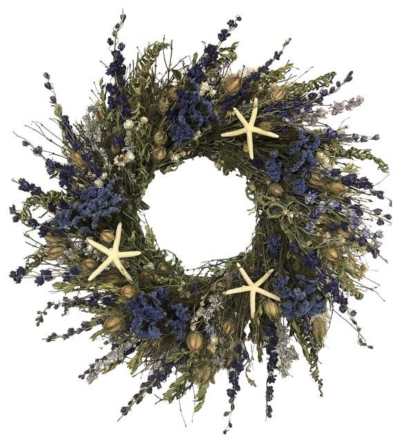 Blue Ocean Coastal Wreath.