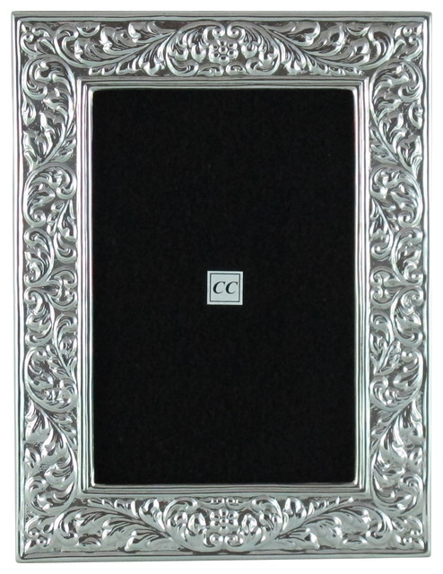 Sterling Silver 4x6 Picture Frame - Florentino - Traditional ...