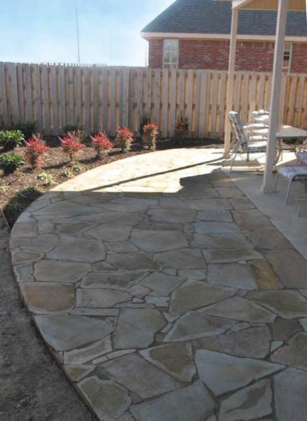 Flagstone Patio and Sidewalk