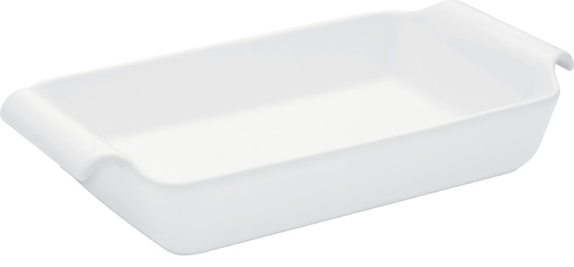 Oxford Professional Porcelain Roaster/baking Dish With Handle.