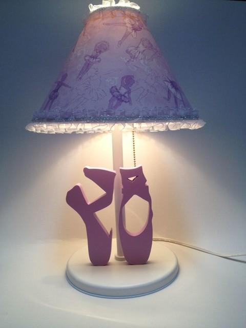 Ballet Ballerina Table Lamps for Kids Room