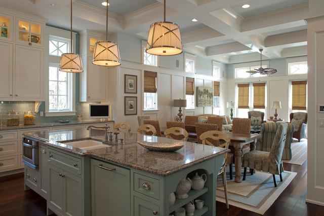 Williams Residence beach-style-kitchen