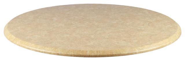 Calloway Round Tabletop, Sandstone, 28x28.