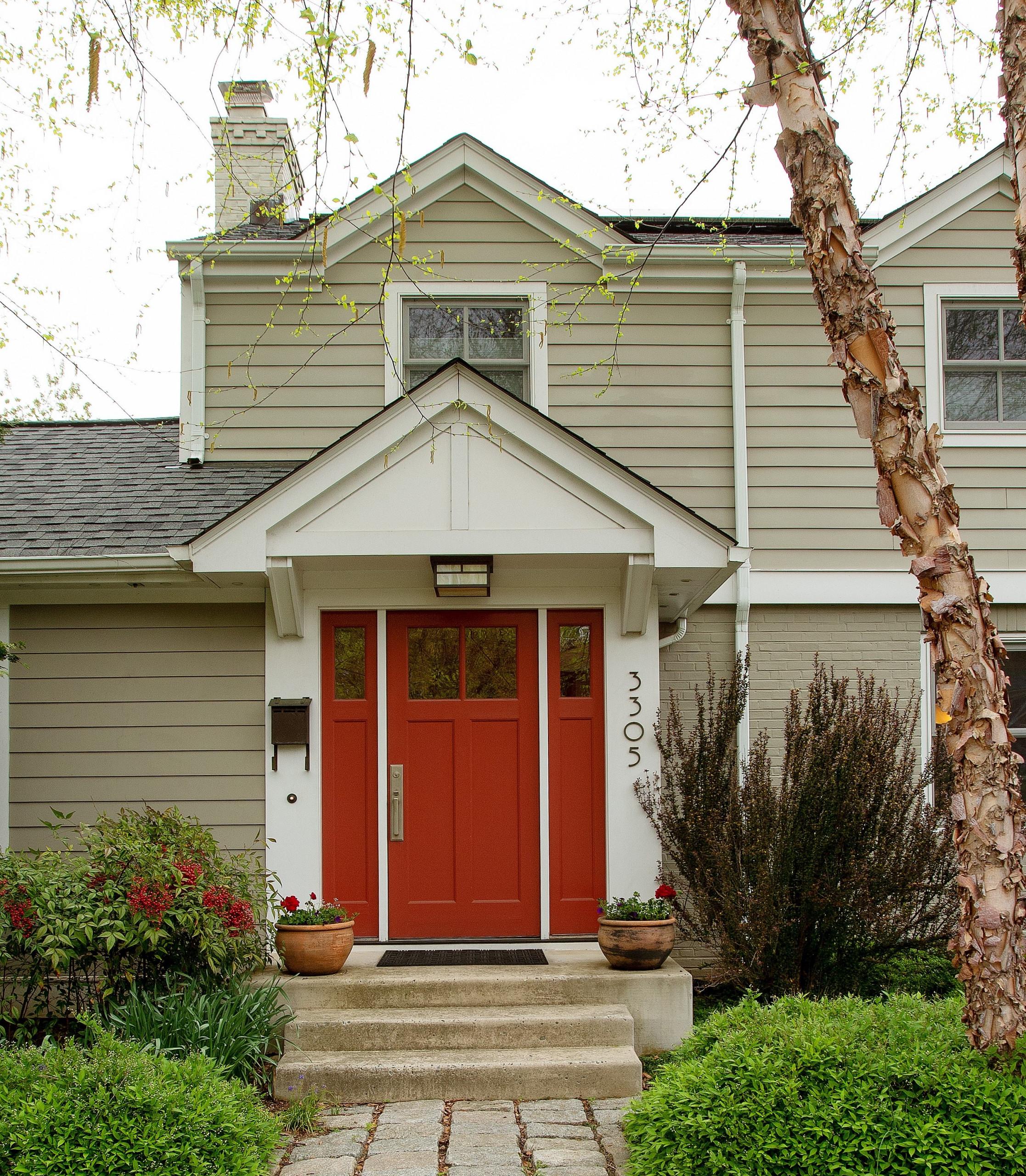 Front Porch for Quartersawn Oak Kitchen