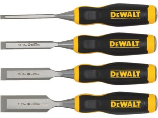 Stanley 4-Piece Short Wood Chisel Set DWHT16063 - Traditional - Hand Tools And Tool Sets - by ...