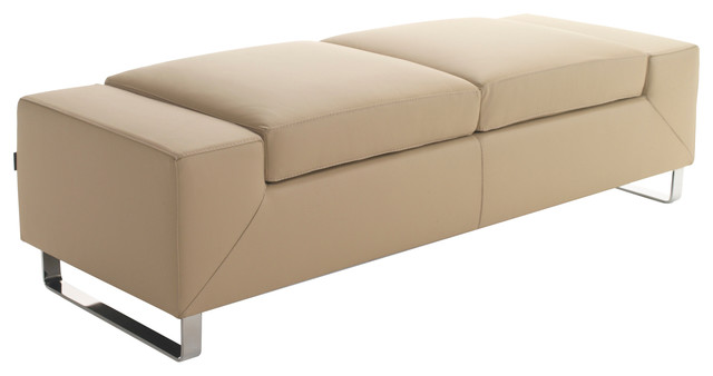 Gobeyond Oversized Backless Sofa Dark Beige Two Seater