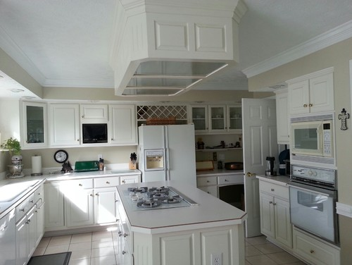 Kitchen Island Ceiling Light Box Kitchen Design Ideas - Kitchen ceiling light box