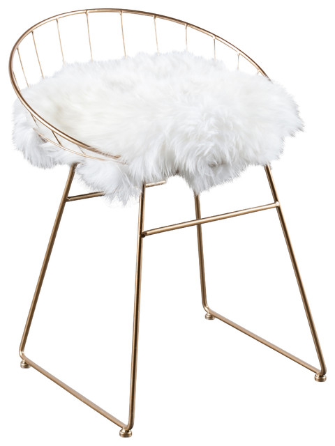 Kylie Sheepskin Chair contemporary-armchairs-and-accent-chairs