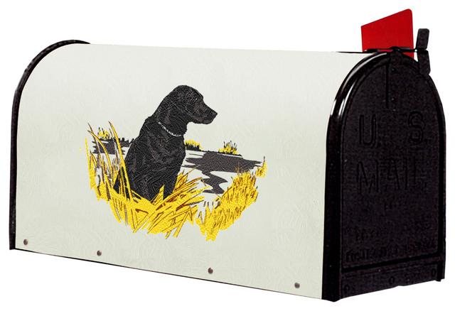 Blue Grass Woods - Bacova Fiberglass Wrapped Mailbox, Sittinglab - View in Your Room! | Houzz