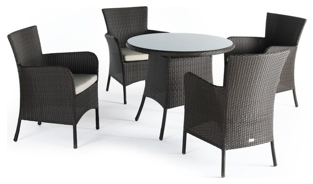 Aruba Round Outdoor Dining Table Tables By Domus Ventures