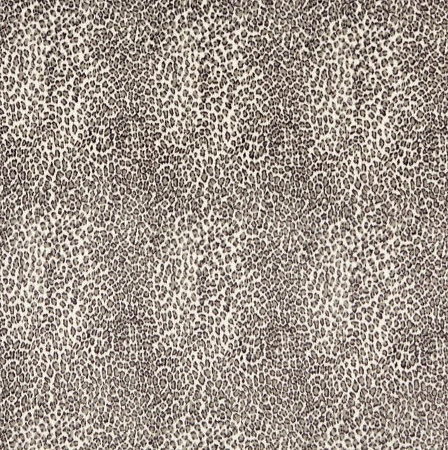 E402 Leopard Animal Print Microfiber Fabric