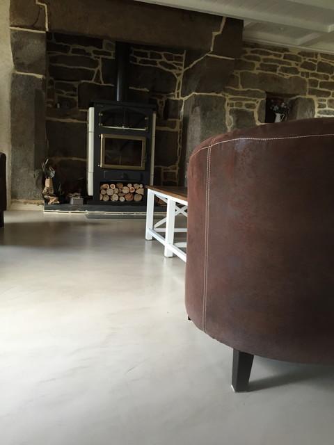 beton cire nantes - Campagne - Bordeaux - par L\'atelier des sols