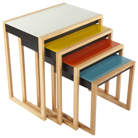 The Bayer Nesting Table Set, Multicolor.