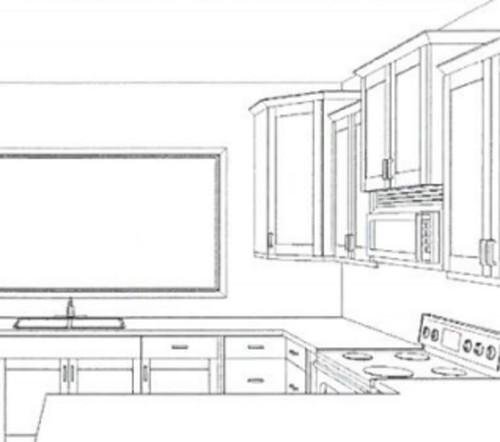 Kitchen Cabinets Upper Corner: Ending With Upper Corner Cabinet