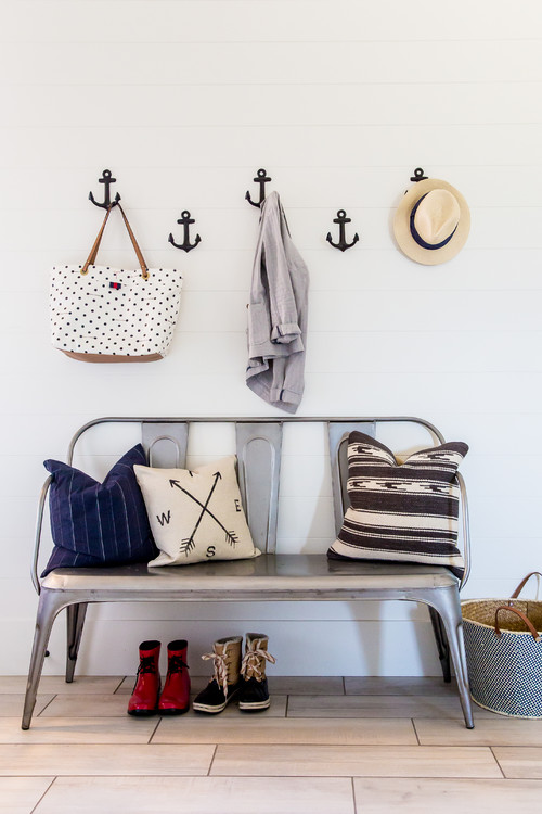 Small Mudroom Ideas - Hooks