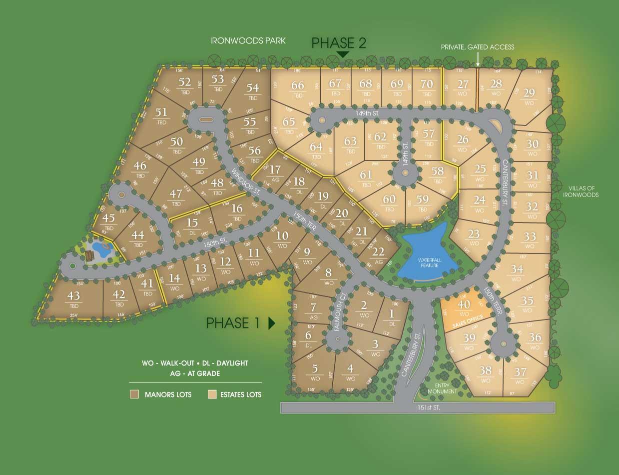 Hills of Leawood Lot 62 Leawood, KS 66224 For Sale