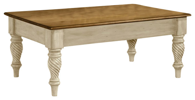 wilshire cocktail table - traditional - coffee tables -homesquare