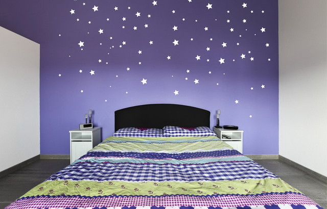 Twinkle Twinkle Little  Stars Removable Vinyl Wall Art Modern - Vinyl wall decals removable