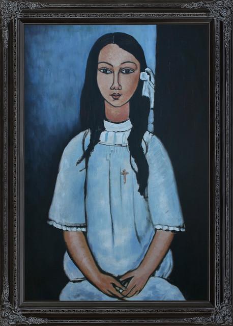 Modigliani Alice Modern Paintings By Overstockart