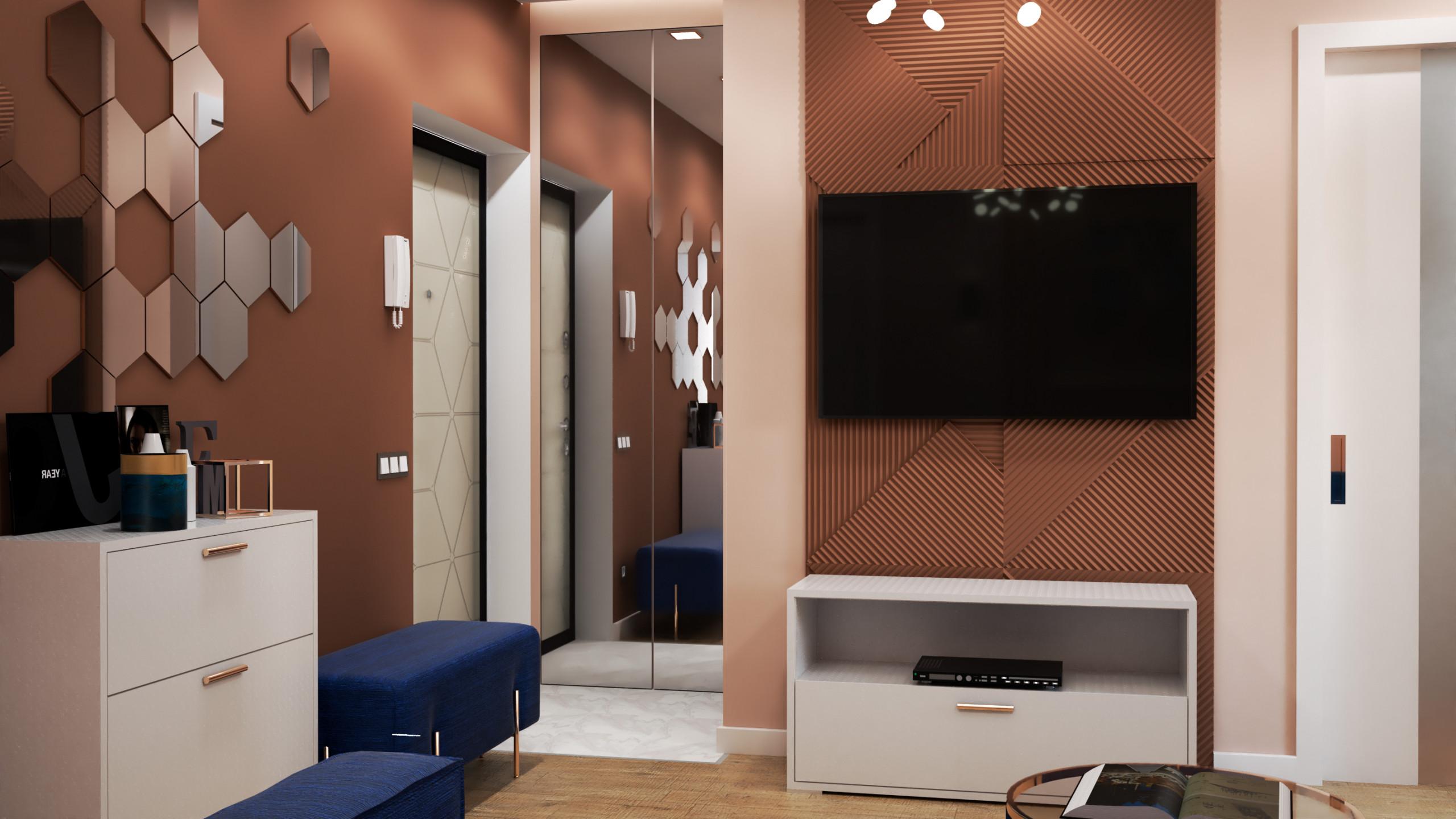 Квартира в современном стиле для молодой парыгост