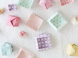 DIY: Make a Little Origami Box Out of a Sheet of Paper (9 photos)