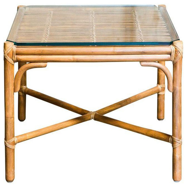 Nice McGuire Style Bamboo Side Table   $750 Est. Retail   $400 On Chairish.com