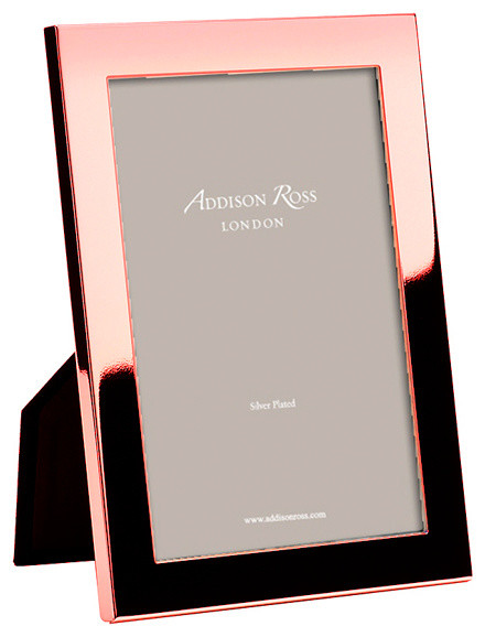 addison ross rose gold plating frame 4x6 contemporary picture frames