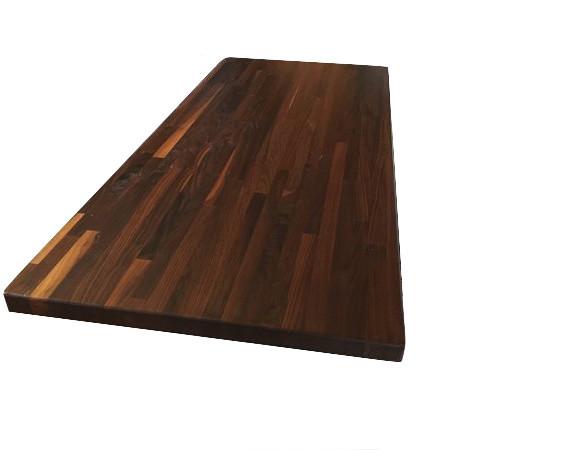 "Eternal Walnut Kitchen Countertop, 36""x72""."