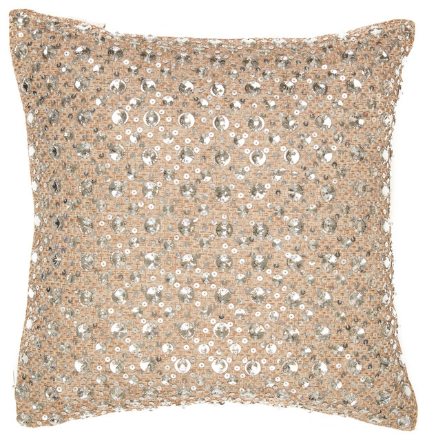 Shine Pillow, Round Stones - Contemporary - Decorative Pillows - by SIVAANA