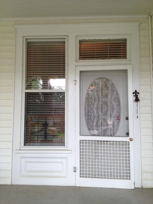 Replacing Front Door/original Door Picture