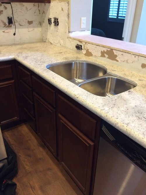 My Contractor Goofed On My Granite Countertops!!