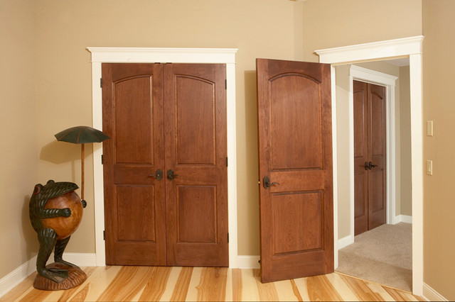Curved Common Arch 2 Panel Doors With Raised Panels Minneapolis