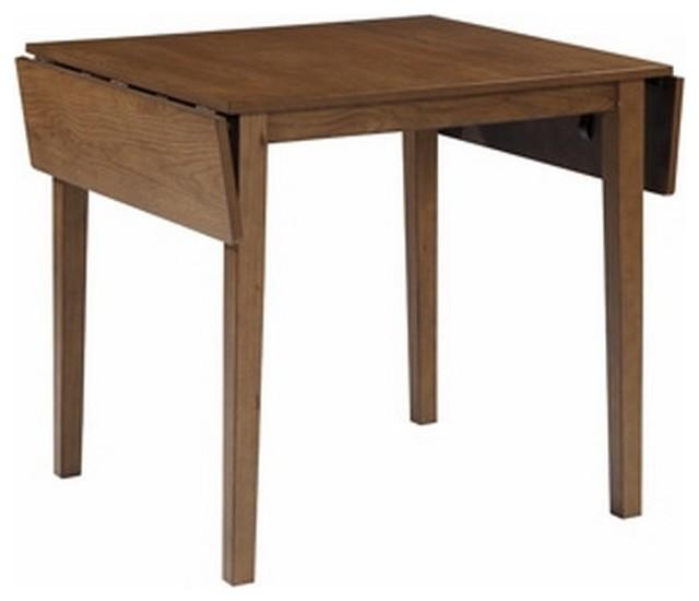 Ashley Dining Room Drop Leaf Table Joveen, Light Brown