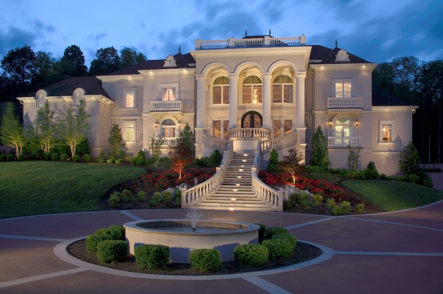 Celebrity homes traditional exterior nashville by for House plans nashville tn