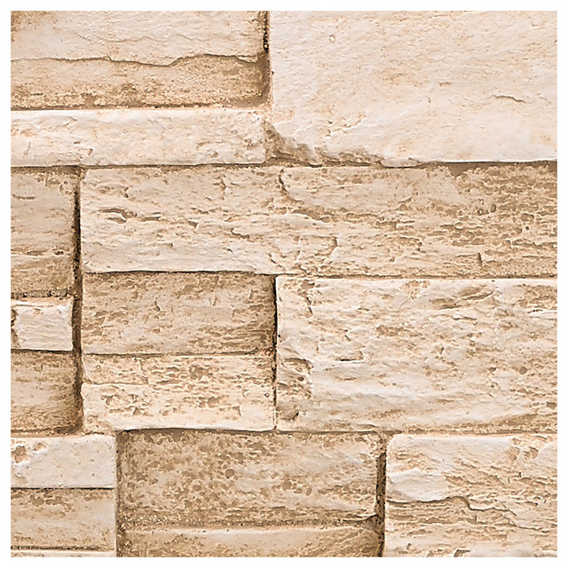 stacked stone wall panel