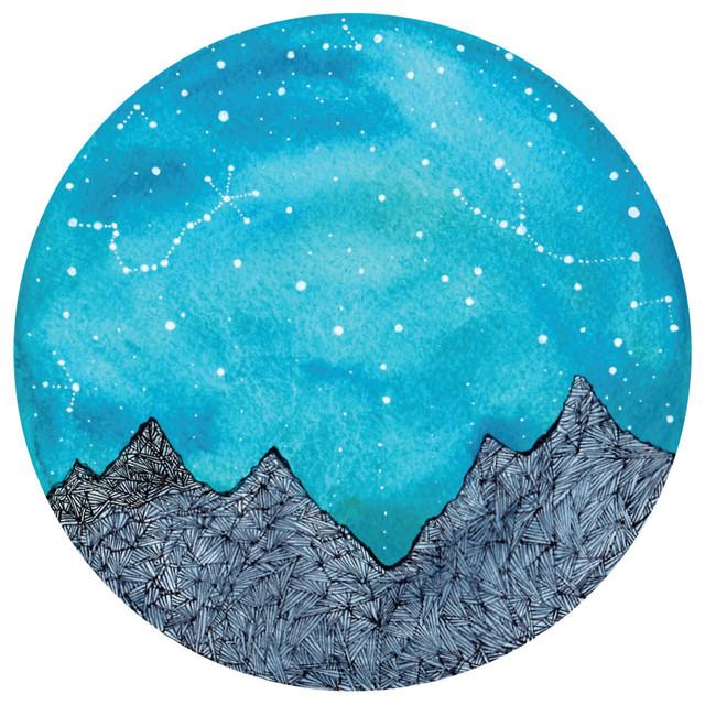 Scorpio and Taurus Constellations Decal, Nature Wall Art ...
