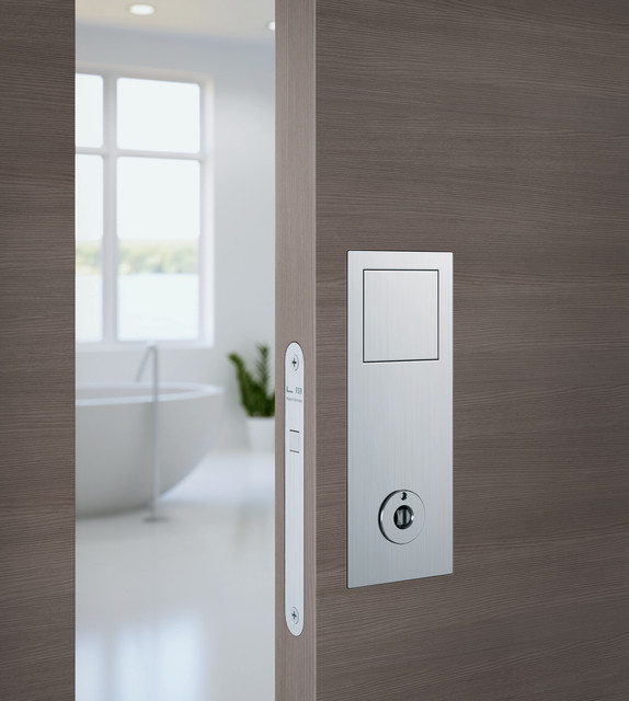 FSB - Sliding Door Lock Set - Modern - Cabinet And Drawer Handle Pulls - Vancouver - by Bradford ...