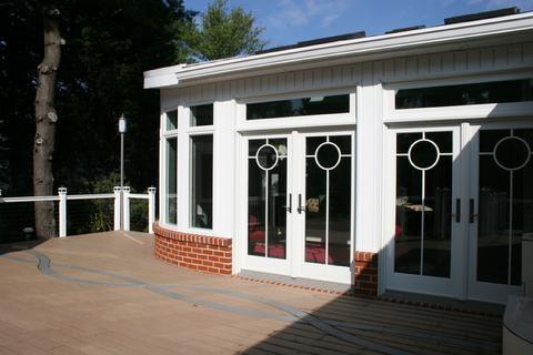 White Porch & Sunroom Build