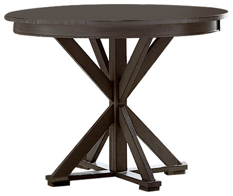 Willow Round Counter Height Table Transitional Indoor