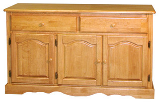 Sunset Trading Treasure Buffet, Light Oak Finish