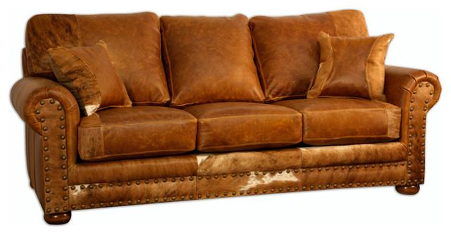 The Stockman Leather Sofa