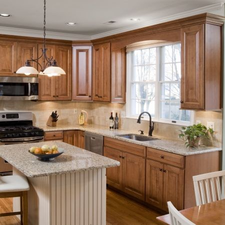 Beautiful French Country Kitchen Cabinet Restoration Contemporary