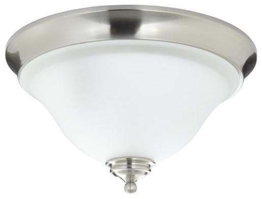 Bathroom Flush Ceiling Light Fixture Flush Mount Light: Mirabelle Mirabelle MIRSAFMLGT St. Augustine